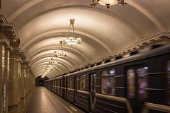 San Petersburgo (Alvaro Lovazzano) Tags: rusia sanpetersburgo canon t3i europa viaje stpetersburg sanpietroburgo subterráneo subway lámparas farol tren train treno europe russia metro baltiyskaya россия railway