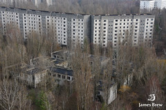 Tower Blocks (www.jamesbrew.com) (James Brew (www.jamesbrew.com)) Tags: city europe ghost nuclear ukraine disaster kiev chernobyl pripyat