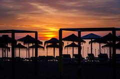 Sunrise at Torremolinos, Spain (DingoShoes - life's a dream) Tags: morning travel beautiful silhouette sunrise coast spain nikon resort coastal costadelsol torremolinos ilovephotography memorable globetrotter travelphotography myholiday southernspain traveldestination theworldthroughmyeyes withhubby nikonmoment afsnikkor18105mm13556ged nikond7000 mediterraneanresorttown