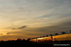 Goldhaus (grafenhans) Tags: light gold licht sonnenuntergang minolta sony himmel wolken 1750 alpha 700 sonne gebude a700 alpha700 grafenwald