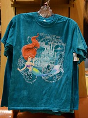 Disneyland Visit - 2016-01-17 - World of Disney - Princess Tees - Ariel (drj1828) Tags: california princess disneyland visit anaheim tee dlr downtowndisney 2016 worldofdisney
