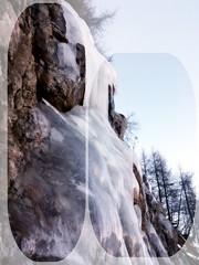 frozen waterfalls III (kaleidoskopspeicher) Tags: mountain outdoor berge ontour eiskristalle icecristals