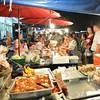 Food stalls (kawabek) Tags: thailand stall chiangmai 傘 タイ パラソル เชียงใหม่ ประเทศไทย チェンマイ 露店 ร่ม parsol แผง