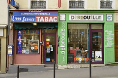 Magasins (mlemandat) Tags: paris storefronts magasins