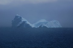 mistyberg (wespfoto) Tags: mist seascape fog newfoundland stjohns signalhill cabottower northheadtrail