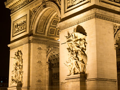 20160117-20160117-P1170036 (cooneybw) Tags: paris france night streetphotography traveling arcdetriomphe nightphotos placecharlesdegaulle
