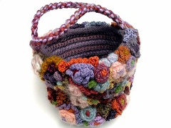 BucketBag2635 (freeform by prudence) Tags: crochet freeform scrumble crochetart prudencemapstone