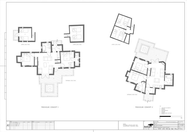 TreeHouse Plans 1 and 2