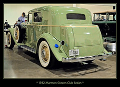 1932 Marmon Sixteen Club Sedan (sjb4photos) Tags: one before her we seen havent 2016cccaannualmeeting