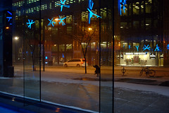 winter street (Ian Muttoo) Tags: street snow toronto ontario canada reflection reflections frost gimp figure bceplace royalbankplaza snowfall baystreet bayst brooksbrothers ufraw allenlambertgalleria shiftn brookfieldplace studiofminus snowfallfrost dsc52451editshiftn