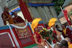 SSDL MR Lama Gyourmé et moines de coté