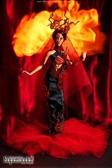 Week 12: Portraying Agni, The God of Fire: Jlo (Leochris91) Tags: agni indonesiassupermodel riselikaaphoenix firefashionphotography agnithegodoffire