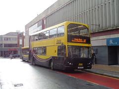 J600BTS Blackpool Transport number 369 on Corporation Street, Blackpool (j.a.sanderson) Tags: bus buses transport east blackpool daf lancs 369 db250 mylennium j600bts