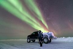 ABC_6453s (savillent) Tags: ocean winter sky snow canada ford ice stars landscape lights nikon northwest january arctic aurora inuit northern territories eskimo borealis 2016 tuktoyaktuk d800e