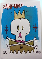 Drawing by Tarek (Pegasus & Co) Tags: urban streetart art collage painting skulls drawing contemporaryart collages lifestyle drawings dessin hype beautifulcolors bd artcontemporain dessins artistes  urbain tarek