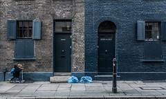 Little Boy Blue [explored] (Peter Murrell) Tags: street blue boy london window kids doors scooter shutters spitafields photoofthemonth