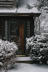 Hot Gates. (kelleysloot) Tags: winter house snow cold nature vertical cabin nikon nikond7000