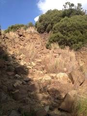 rocky path up Thaba Bosiu (kathleenbarber) Tags: africa travel lesotho maseru thaba bosiu