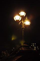 partick bridge lights (werewegian) Tags: werewegian partick bridge kelvin glasgow lights lens flare jan16 366the2016edition 3662016 day19366 19jan16 kelvincrossing