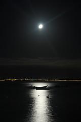 Moonrise (Diego_Valdivia) Tags: ocean chile beach boats nightshot playa moonrise reflejos antofagasta juanlpez regindeantofagasta