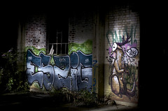Industrial: Eszig-INK  Night-Pieces BXLV - 427x (Jupiter-JPTR) Tags: ink germany graffiti industrial character cologne colonia nightshots ccaa lhs nightvisions jptr hiddenspaces abandonedarea nightindustry nightpieces eszig