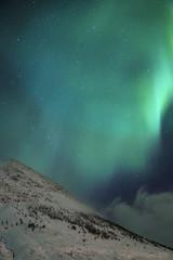 Hyperborean Light Trance part II (lunaryuna) Tags: nightphotography winter light snow norway season landscape nightsky lunaryuna northernlights auroraborealis starrynight mountaintop nocturnalphotography northernnorway starslikedust tromsfylke arcticregion nordlichter thecoloursofcold seasonalwonders mrusselv