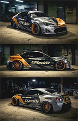 Speedhunters 2JZ GT86-X (Nux Creative Works) Tags: bunny toyota rocket needforspeed stance greddy driftcar 2jz speedhunters stanceworks stancenation gt86 nfs2015