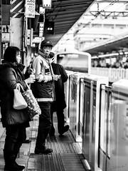 Ikebukuro  (Guillaume.V) Tags: street bw station japan japanese tokyo noiretblanc ikebukuro japon monochome tokyostreet streettokyo