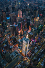 The New York Times Building (Justin in SD) Tags: city nyc newyorkcity ny newyork building architecture skyscraper buildings lights newspaper media manhattan aerial midtown helicopter timessquare citylights highrise aerialphoto times nytimes rockefeller aerialphotography newyorktimes midtownmanhattan sonyalpha sonya7rii a7rii a7r2