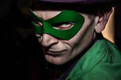 Riddle me this... (Phil_Moore) Tags: color colour green book dc comic purple graphic character bad evil criminal crime superhero batman scowl novel frown marvel villain riddler mischevious riddle 500px ifttt