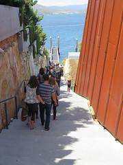 steps to the ferry (Jellibat) Tags: art gallery steps australia mona tasmania hobart berridale museumofoldandnewart