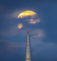 Full Moon Over Pyramid (louisraphael) Tags: moon tower san francisco landmarks full moonrise rise coit