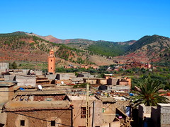 village de Tafzan (simon_berlin62) Tags: world africa travel panorama mountain mountains landscape photography countryside high dorf village view north hills morocco berber arab maroc atlas range marokko afrique ourika berbers berbre 2016 nordafrika afriquedunord berbres  hautatlas  hoheratlas    tafzan