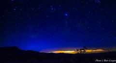 Desert Stars (MarcCooper_1950) Tags: blue sky moon mountains stars landscape ir nikon nightscape darkness desert hills galaxy southerncalifornia hdr moonglow lightroom milkyway joshuatreenationalpark d810 marccooper