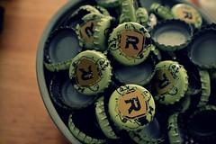 caps (snickoel) Tags: red green apple beer bottle nikon random caps ale d3100