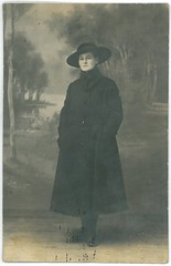Jolnka - Brass - Adler Mterem - 1918. (fotobarat966) Tags: portrait woman lady adler transylvania magyar 1918 hungarian erdly rppc portr hlgy n brass kpeslapfot jolnka
