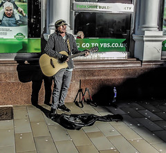 Busker (Jymothy) Tags: city people musician st town performance lancashire singer helens busker merseyside