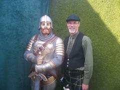 Knight with Kiltman (KiltManinSoCal) Tags: gay kilt