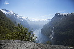 Seven Sisters (suripreeti) Tags: travel mountains norway outdoor sevensisters fjords geiranger