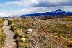 The Path to the Left (BlinkOfALens) Tags: chile patagonia mountain southamerica landscape outdoors hiking cl torresdepaine torresdelpainenationalpark chileanpatagonia regindemagallanesydelaantrticachilena regindemagallanesydelaan