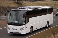 Kineil Coaches VDL Futura SF16KUX (andyflyer) Tags: bus coach blackford a9 rosscounty vdlfutura kineilexecutivecoaches sf16kux