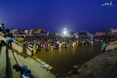 Mahamaham 2016 (Yesmk Photography) Tags: morning india water night sunrise wideangle bathing tamilnadu tanjore templecity kumbakonam muthukumar templepond mahamaham yesmkphotography