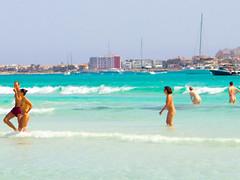 Es Trenc (nudistblr) Tags: girls sea beach naked nude spain sand outdoor butt playa shore nudist es mallorca fkk majorca platja nudismo estrenc desnuda naturista nudista trenc coloniasantjordi