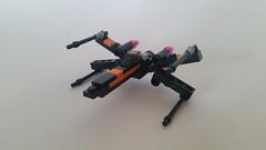 Incom T-70 X-wing 4 (Ken_1974) Tags: star starwars force lego xwing wars poe t70 awakens dameron incom