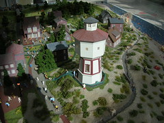 Langeoog en miniature - water tower (achatphoenix) Tags: island watertower insel 187 langeoog nordsee miniatur enminiature ostfriesischeinsel eastfrisianisland emsparkleer
