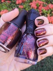 OPI German-icure + Nfu Oh 51 (Jane Iris) Tags: nail polish flakes unhas bff opi esmaltes desafio multichrome nfuoh