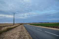 Paysage campagne proche de Cambrai (gbpic) Tags: de route paysage campagne ligne fuite