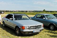 Mercedes-Benz 500 SEC (tautaudu02) Tags: auto cars mercedes benz automobile moto 500 sec coches voitures 2015 rtro arodrome pujaut