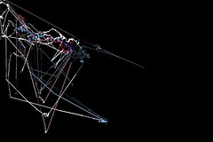 HM Noispainter (METAHINGAQ) Tags: motion art festival paint live flash digitalart motioncapture generative dac actionscript