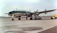 Chicago Midway Airport - Lake Havasu City - Lockheed Constellation (twa1049g) Tags: city lake chicago 1969 airport havasu midway lockheed constellation n90823